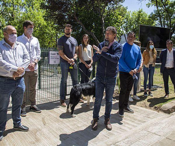 El gobierno de San Isidro inauguró una nueva plaza en el barrio de Beccar